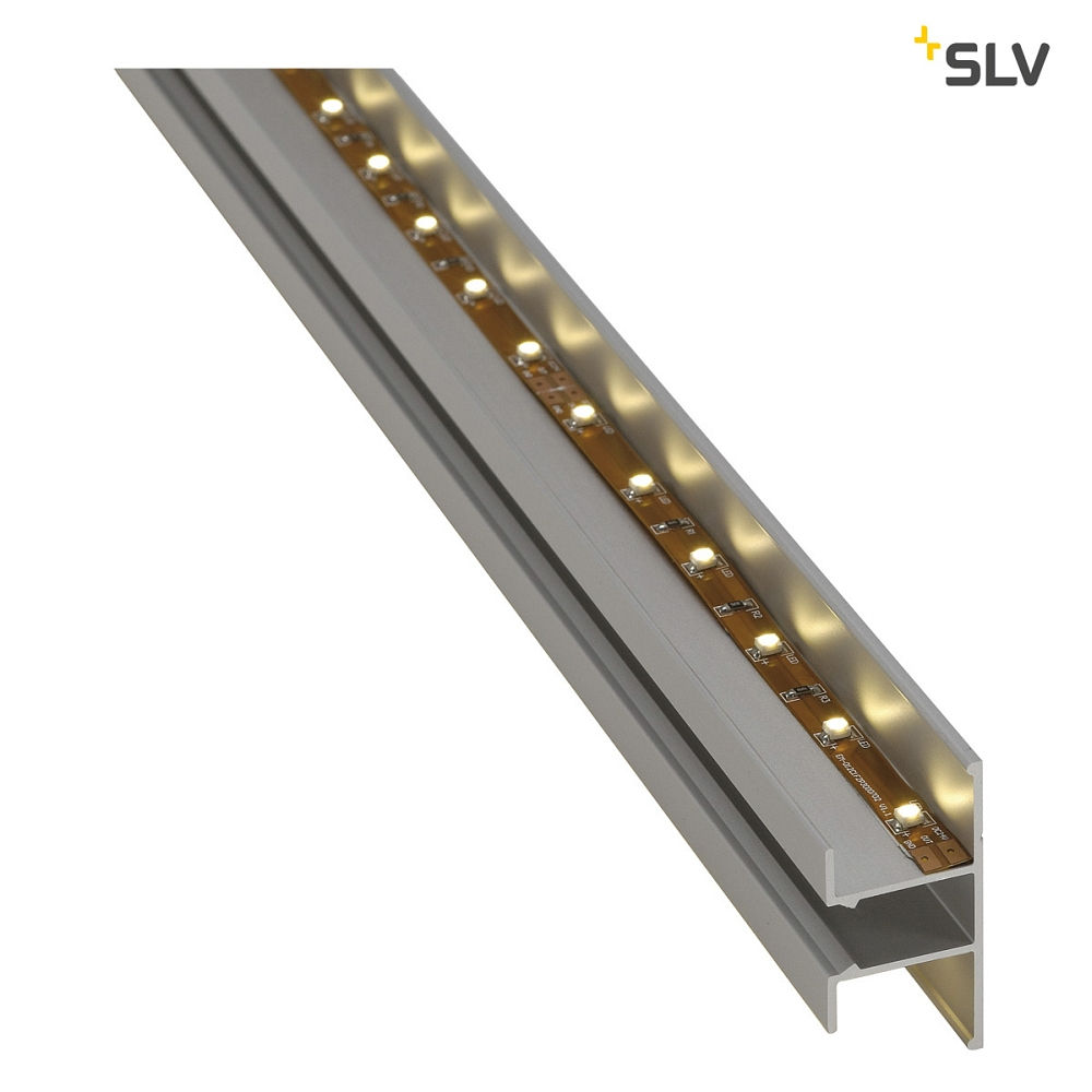 LED wall profile, up/down, alu-anodised, 2m