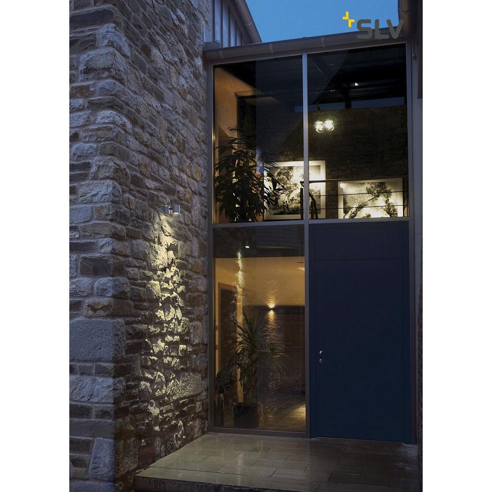 Wall luminaire new myra wall outdoor luminaire gu10 max for Luminaire outdoor