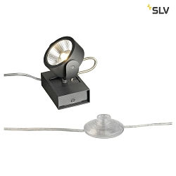 KALU LED 1 FLOOR Gulvlampe, 24°, sort