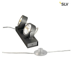 KALU LED 2 FLOOR Gulvlampe, 24°, sort