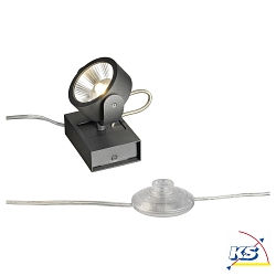 KALU LED 1 FLOOR Gulvlampe, 60°, sort