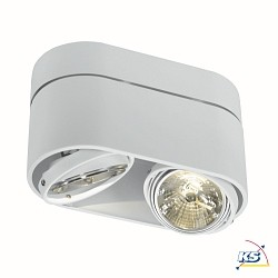 Downlight KARDAMOD SURFACE ROUND QRB111 Double, rund, 2x G53
