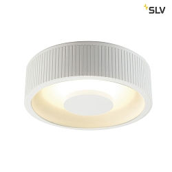 LED Loftlampe OCCULDAS, rund, 21W, 30 SMD LED, 3000K, 120°, hvid