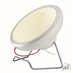 LED Standerlampe I-RING, rund, hvid, SMD LED, 14W, 3000K