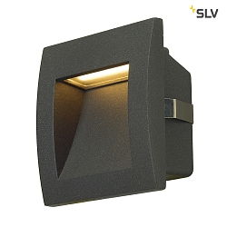 LED Væglampe DOWNUNDER OUT LED S, 0,96W, 3000K, IP55, antracit