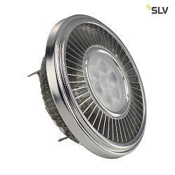 LED AR111 Lyskilde, CREE XT-E LED, G53, 6 PowerLED, 15W, 30°, 2700K