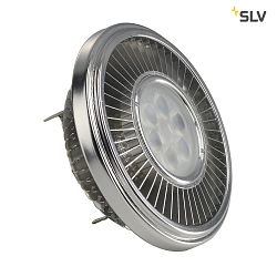 LED AR111 Lyskilde, CREE XT-E LED, G53, 6 PowerLED, 15W, 30°, 4000K