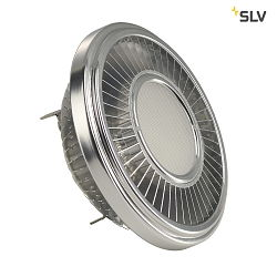 LED AR111 Lyskilde, CREE XT-E LED, G53, 6 PowerLED, 15W, 140°, 2700K