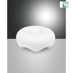 LED Batteri Bordlampe BLUMA, 1x 3,9W, 3000K, 325lm, IP20, hvid