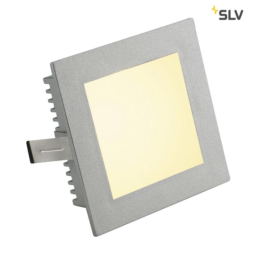 Recessed luminaire FLAT FRAMES Model Basic silver grey - SLV - KS ...