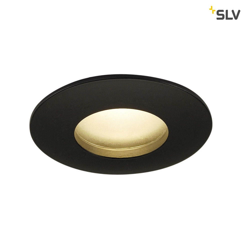 new styles 064c8 7786d LED Outdoor luminaire OUT 65 ROUND Downlight Ceiling recessed luminaire,  38°, COB LED, 3000K, IP65, Clip springs, black