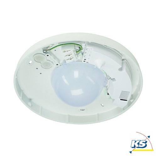 Loftlampe D TECT LED V u00e6glampe, rund, 36 LED, 5700K, med