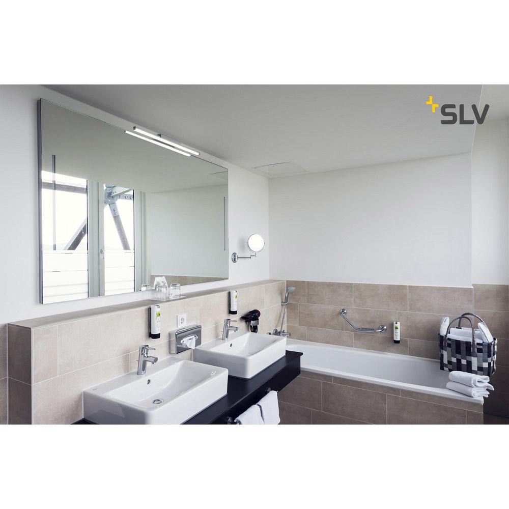 led spejllampe glenos led lampe til bad 12 6w 120. Black Bedroom Furniture Sets. Home Design Ideas