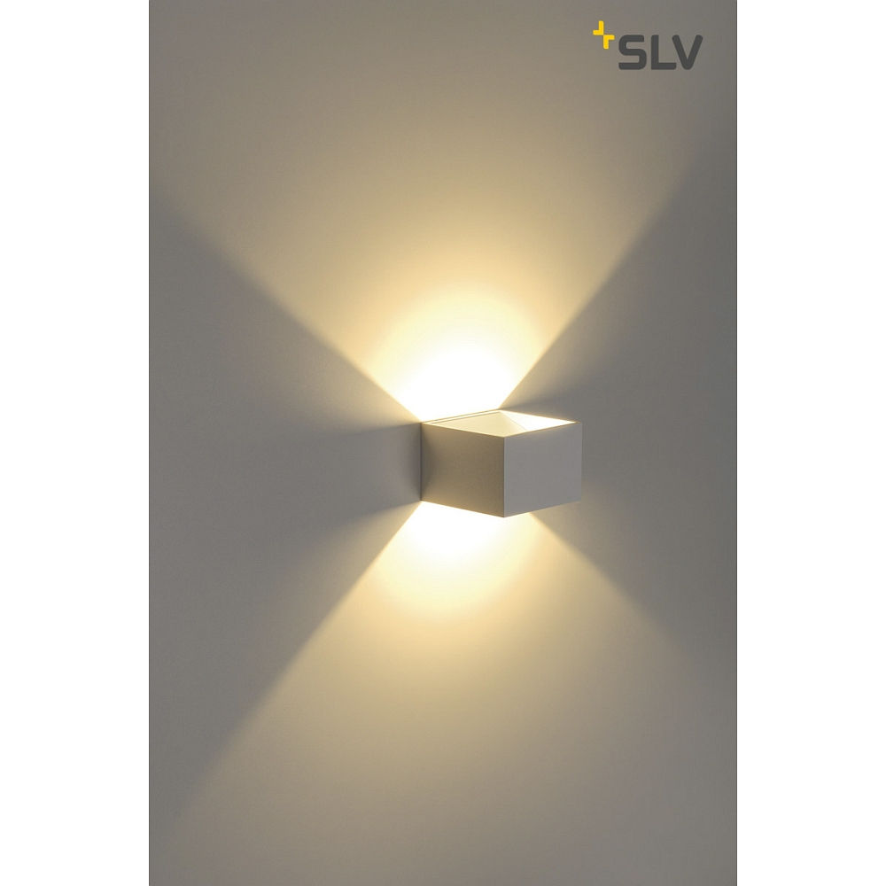 Led wall luminaire logs in 5w led 3000k for Luminaire mural exterieur led