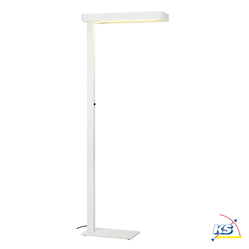 Led floor lamp worklight led sl 1 white incl 3 philips led strips led floor lamp worklight led sl 1 white incl 3 philips led strips 3000k with sensor aloadofball Image collections