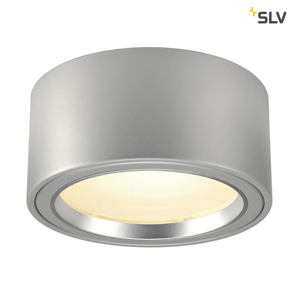Oprindeligt LED Loftlampe LED PÅBYGNINGSSPOT 1800lm, rund, 48 LED, 3000K, alu VB98