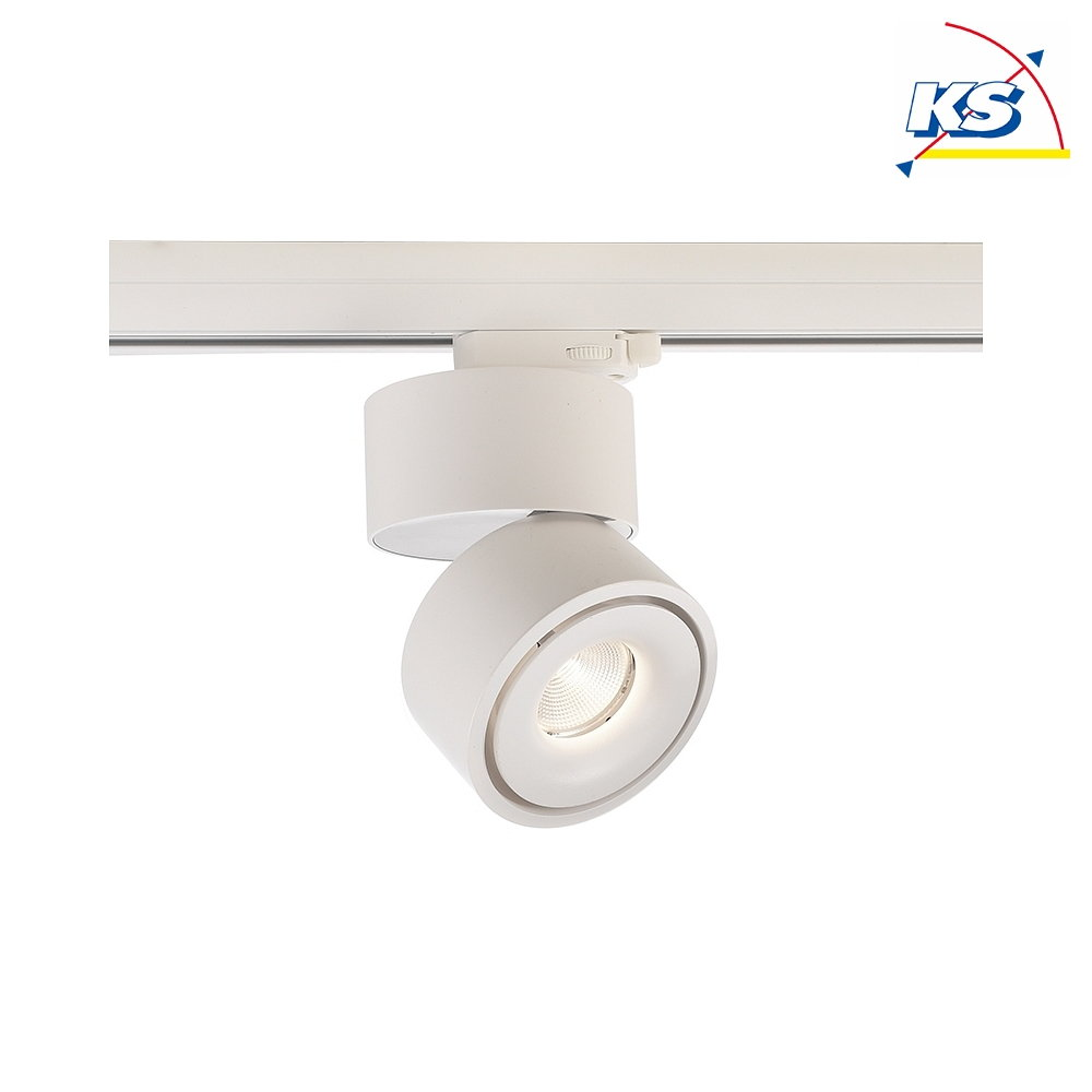 Deko-Light LED 3-faset Downlight UNI II, 16W 3000K 910lm 35°, dæmpbar, hvid