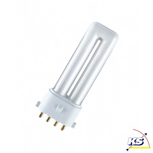 osram dulux s e 830 2g7 varmhvid 9w osram ks lys online shop lamper belysning lyskilder. Black Bedroom Furniture Sets. Home Design Ideas